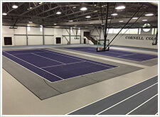 Tennis court resurfacing, repair, and installation