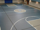 Mondoten Basketball Court installation in Locust Grove, Georgia