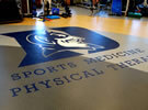 Duke University Sports Medicine / Phyiscal Therapy Complex mondo flooring