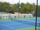 Cary tennis court resurfacing