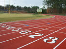 Orange County High School running Track repair
