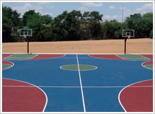 Neighbor to Neighbor Tennis Court Resurfacing, Raleigh, NC